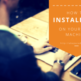 ABAP Academy - How to Install SAP on Your Own Machine