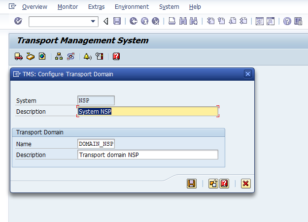Transport Management System Setup for SAP NW AS ABAP 7 03 64