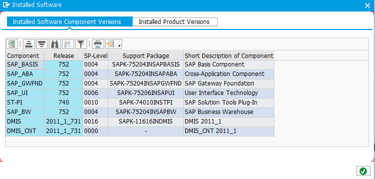 ABAP Academy SAP System Preinstalled Software